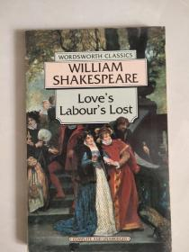 Love's Labour's Lost  (Complete and unabridged)  莎士比亚:爱的徒劳 英文原版