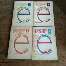 Essential English for Foreign Students Book (学生用基础英语四册)...