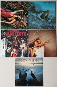 Roxy Music Bryan Ferry 黑胶LP 日版为主 个人最爱艺术摇滚乐队&歌手