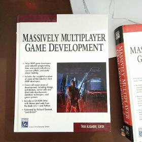 MASSIVELY MULTIPLAYER GAME DEVELOPMENT(有光盘)