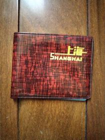 文革时期塑料皮夹子《上海》