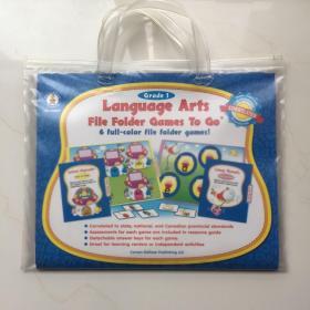 Grade 1 Language Arts File Folder Games To Go  6 full-color file folder games!
