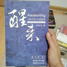 醒来:110年的中国变革(从甲午战争到镀金时代)许知远 一版一印