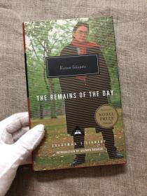 ▲限时特价▲The Remains of the Day 长日留痕 / 长日将尽【诺贝尔文学奖得主石黑一雄代表作,获1989年获布克奖。人人文库,萨尔曼·鲁西迪导读。英文版,精装】