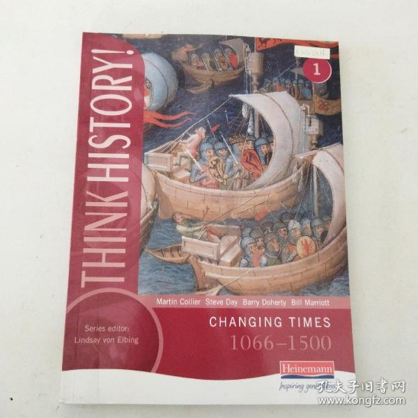 【外文原版】 Think History: Changing Times 1066-1500 思考历史:变化的时代1066-1500