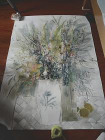 南京艺术学院教授莫雄作品。