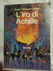 L'ira di Achille 意大利语原版<阿喀琉斯之怒>