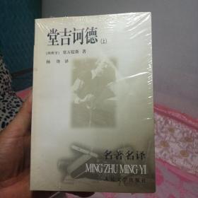 堂吉诃德名著名译杨绛(上下册)