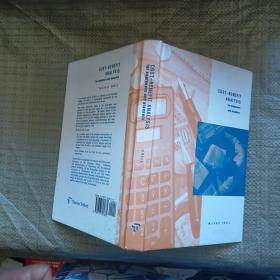COST BENEFIT ANALYSIS  外文版   实物拍图 现货 无勾画 首页个人签名