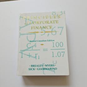 P.R.I.N.C.I.P.L.E.S OF CORPORATE FINANCE 公司财务的会计准则