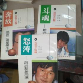 超级棋手的精髓怒涛,奔放,斗魂共三本合售实物拍图