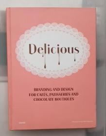 DELICIOUS,美味休闲的餐饮品牌设计图书 英文原版