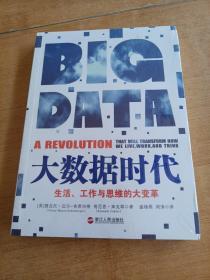 大数据时代:生活、工作与思维的大变革  未开封