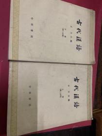古代漢語第二分冊(上下)館藏書