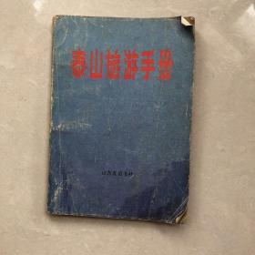 泰山旅游手册