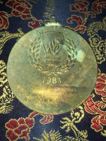 SINGAPORE SPORTS COUNCIL PESTA SUXAN 新加坡体育协会 1981年纪念章