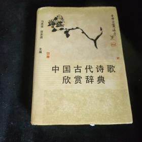 中国古代诗歌 欣赏辞典