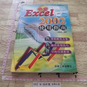 中文Excel 2002使用指南