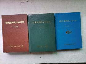景德镇陶瓷工业年鉴(85、86、87年三册全)