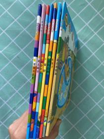 噼里啪啦系列(共7册):1 我要拉巴巴,2 我去刷牙,3 我要洗澡,4 你好,5 草莓点心,6 车来了,7 我喜欢游泳