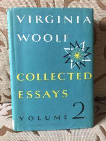 Virginia Woolf Collected Essays volume 2 -- 《伍尔夫散文集》卷二  馆藏本