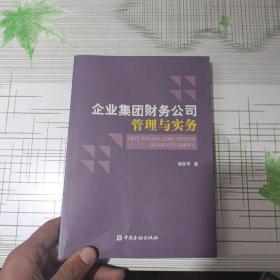 企业集团财务公司管理与实务(书边破损)