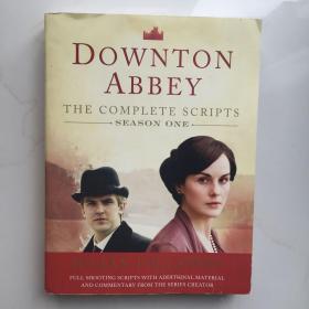 英文原版  Downton Abbey, Season One The Complete Scripts 唐顿庄园第一季完整剧本