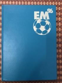 原版足球画册 1996欧洲杯 风格类似斯洛克或osb 240页 最好的当届赛事版本之一 稀缺