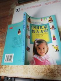 中国儿童智力方程(3-7岁儿童能力家庭测试与指导)