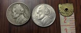 美国硬币美分1分.5分.25分外币硬币纪念币 林肯总统 国家公园第15枚 购买看描述
