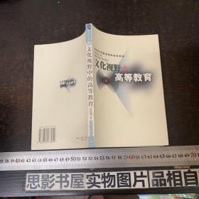 南京师范大学青年学者文丛:文化视野中的高等教育