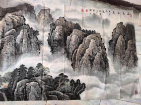 著名山水画画家杜中良山水画