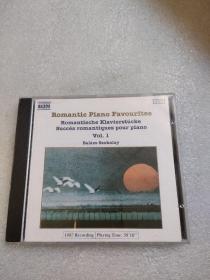 CD  Romantic piano favourites(VOL.1)