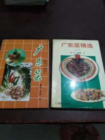 广东菜精选(一)+广东菜(料头、汁和荧)(两本合售)