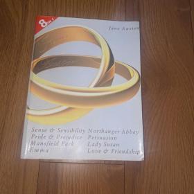 Jane austen's complete novels pride and prejudice sense and sensibility mansfield park Emma persuasion northanger abbey lady susan Jane austen love and friendship简奥斯汀英文全集
