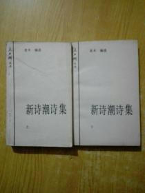 新诗潮诗集(上下册)