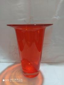 琉璃花瓶(橘色)