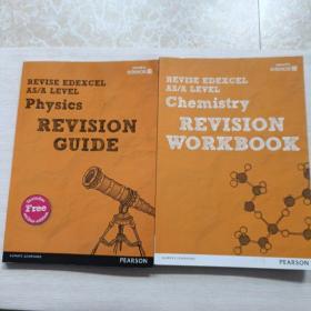 REVISE Edexcel AS/A Level Chemistry Revision Guide+workbok【2本合售】