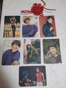 王菲明星卡(七张合售)