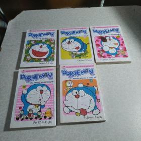 DORAEMON 5、7、12、27、29(哆啦a梦,英文版)5本合售。