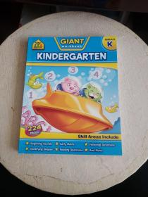 Giant Workbooks Kindergarten 幼儿园练习册 英文原版!