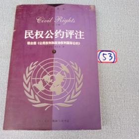 民权公约评注:联合国《公民权利和政治权利》(上下)