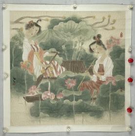 朱新昌  尺寸  66/66  镜片  男,1954年生,浙江宁波人,1982年毕业于上海师范大学美术系。2002年毕业于上海中国画院首届中国画高研班,现为上海中国画院画师,中国美术家协会会员。