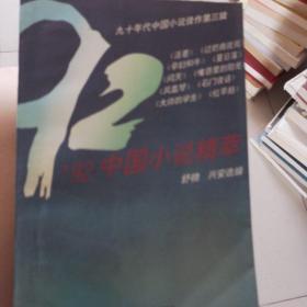 中国小说精萃:92中国小说精萃
