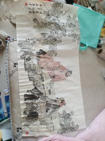 韩新维国画