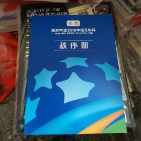 燕京啤酒2018中国足协杯秩序册