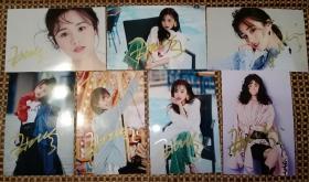 安悦溪 亲笔签名照片 如图所示  特殊商品售出后不退不换