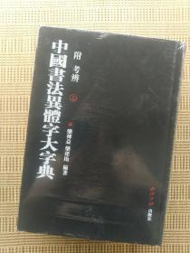 中国书法异体字大字典 附考辨 上下两册 全二册全 附考辩