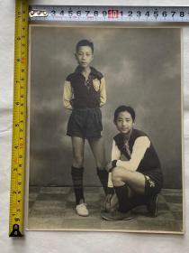 民国光华大学篮球队员照片