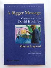 A bigger message  David Hockney